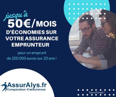 Economisez 50€ par mois sur votre assurance emprunteur
